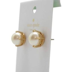 Kate Spade Gold Pearl Earrings
